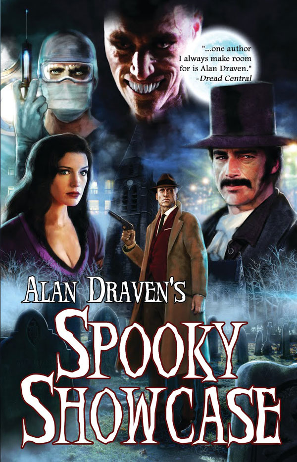 Alan Draven's New Short Story/Novella Collection Spooky Showcase Arriving in November