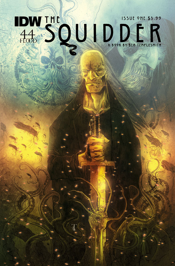 Ben Templesmith Returns to IDW with New Four-Issue The Squidder Series