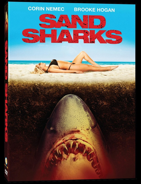 Sand Sharks Prowl the Beaches on US DVD This Summer