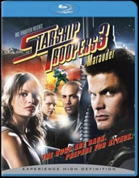 Starship Troopers 3 on Blu-Ray