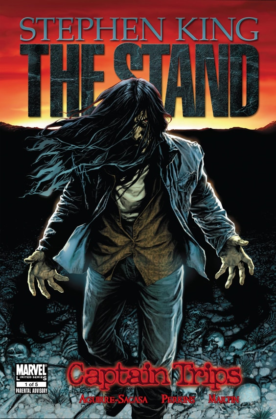 Click it to check out a preview of The Stand comic!