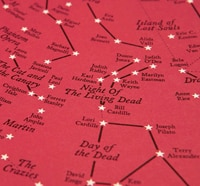 Horror Star Chart Pays Tribute to 135 Important Films