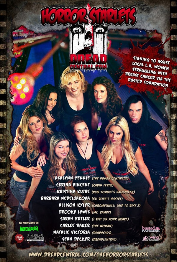 Meet The Horror Starlets 2012 This Saturday, October 27th at Son of Monsterpalooza