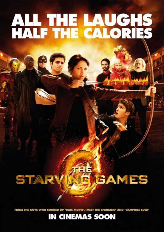 The Most Horrifying Thing You'll See All Day: The Starving Games Trailer!