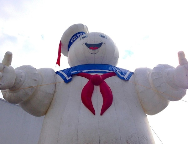 Ghostbusters' Stay Puft Marshmallow Man Appeared In Los Angeles