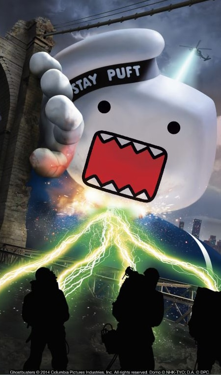 Icons Collide as Ghostbusters Teams with Domo for a New Line of Collectibles and Plush Figures