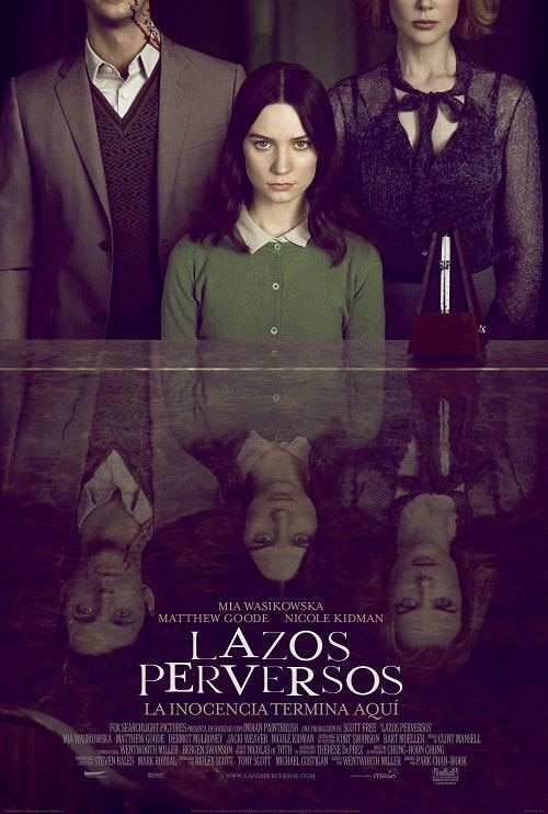 International Stoker Poster Has Some Red On It