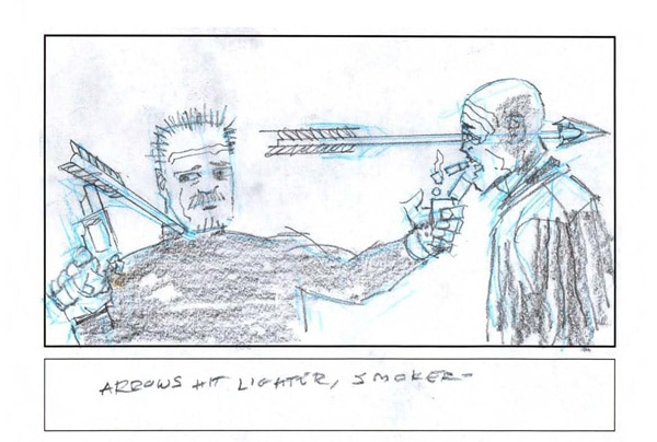 Check Out Frank Miller's Sin City: A Dame to Kill For Storyboard Art