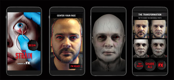 strain trans - #SDCC14: App Turns You Into a Victim of The Strain