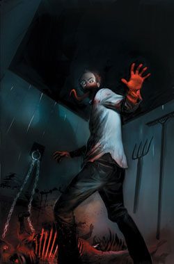 Exclusive Early Look at the Cover Art for Issue #3 of Dark Horse Comics' The Strain