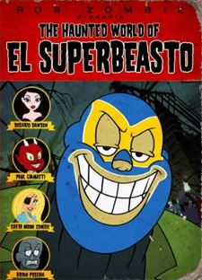 The Haunted World of El Superbeasto DVD