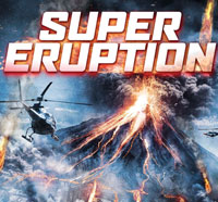 Red Hot Lava Flows in the DVD Artwork for Super Eruption