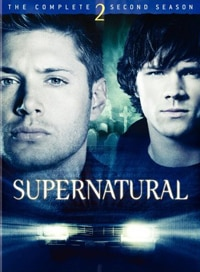 Supernatural: The Complete Second Season DVD (click for larger image)