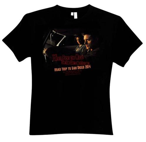 San Diego Comic-Con 2014: Take a Road Trip with this Limited Edition Supernatural T-Shirt