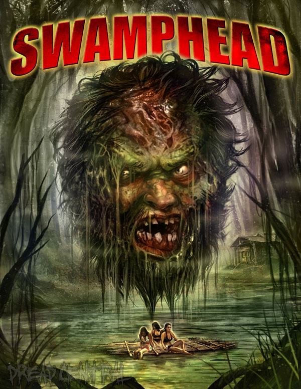 swamphead poster - Exclusive New Artwork Premiere for Swamphead