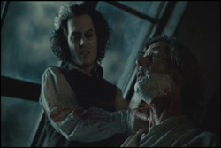 Sweeney Todd DVD review (click for larger image