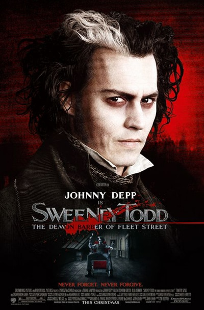 Sweeney Todd poster!