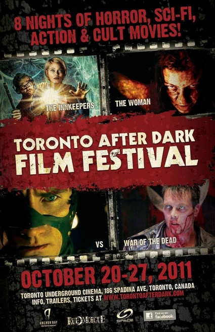 Winners of the 2011 Toronto After Dark Film Awards; 2012 Fest Dates Announced!