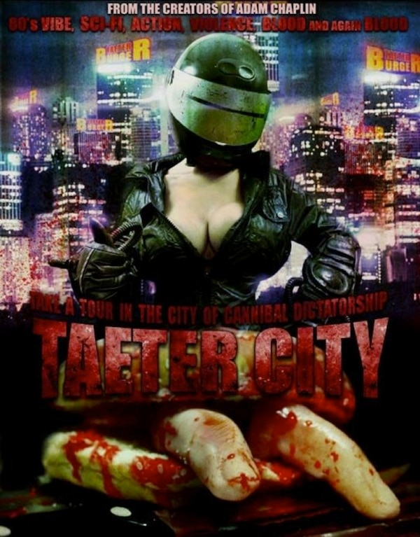 Taeter City VHS/DVD Deluxe Set Now Available from Cult Movie Mania