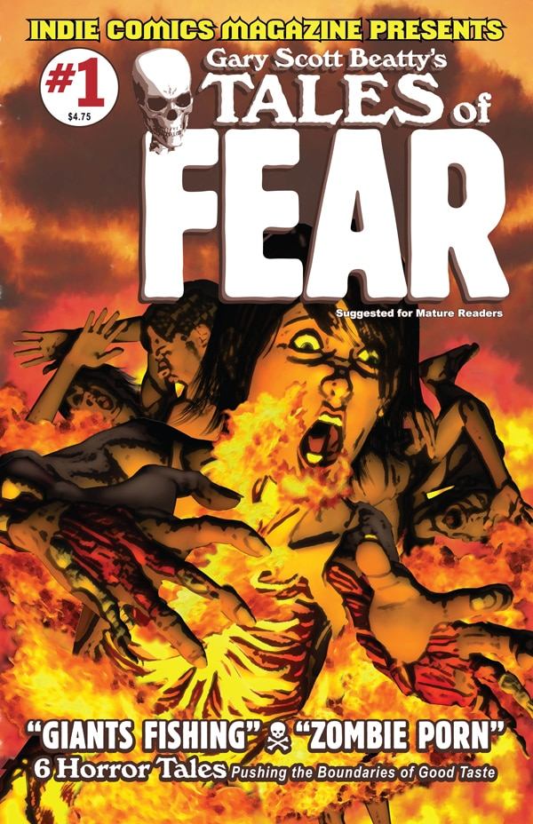 First Details and an Early Look at Gary Scott Beatty's Tales of Fear #1