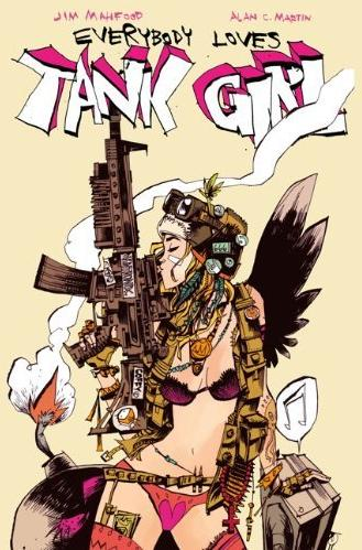 Exclusive: Jim Mahfood Discusses Everybody Loves Tank Girl
