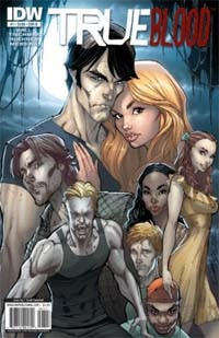 Second Printing for True Blood Comic Issue #1