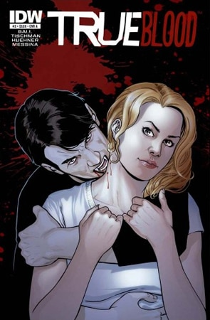 Cover Art for True Blood Comic Issues #2-#5