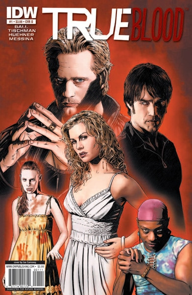 True Blood Comic Series Coutresy of IDW and HBO