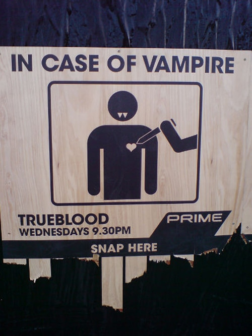 Badass True Blood NZ Ad Campaign