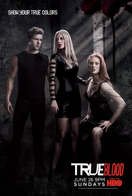 More New True Blood Season Four Teaser Posters