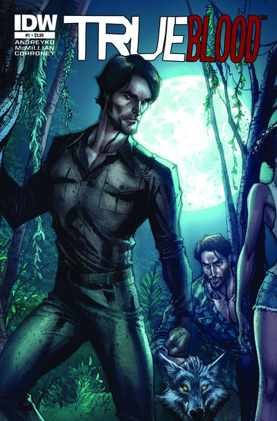 True Blood Comic Issue #1 Cover Art