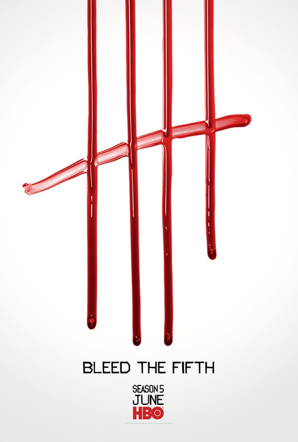 Second True Blood Fan Poster Bleeds the Fifth