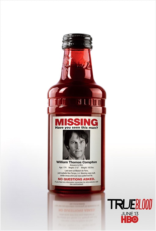 Fifth True Blood Promo Poster Asks: Have You Seen This Man?