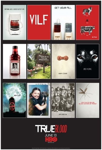 True Blood Season Three Promo Posters Collection Now Available