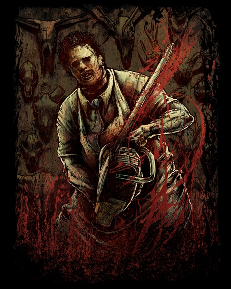 Fright Rags Texas Chainsaw Shirts