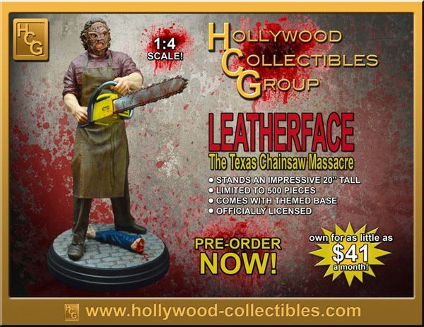 Texas Chainsaw 3D Collectible Leatherface