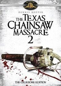 The Texas Chainsaw Massacre 2 DVD (click for larger image)