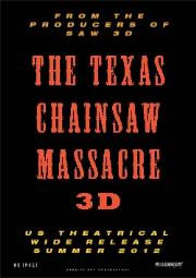 tcm3d - Leatherface Front and Center on NYCC Texas Chainsaw 3D One-Sheet
