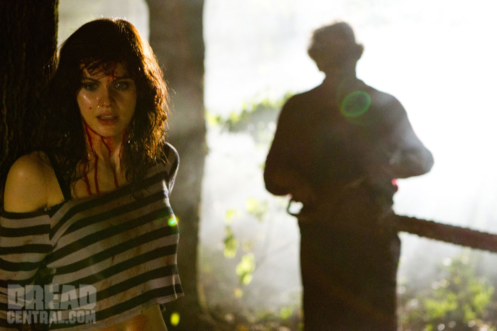 New Texas Chainsaw Images Full of Fire and Bill Moseley