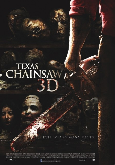 New International Texas Chainsaw 3D One-Sheet Combines Past Posters