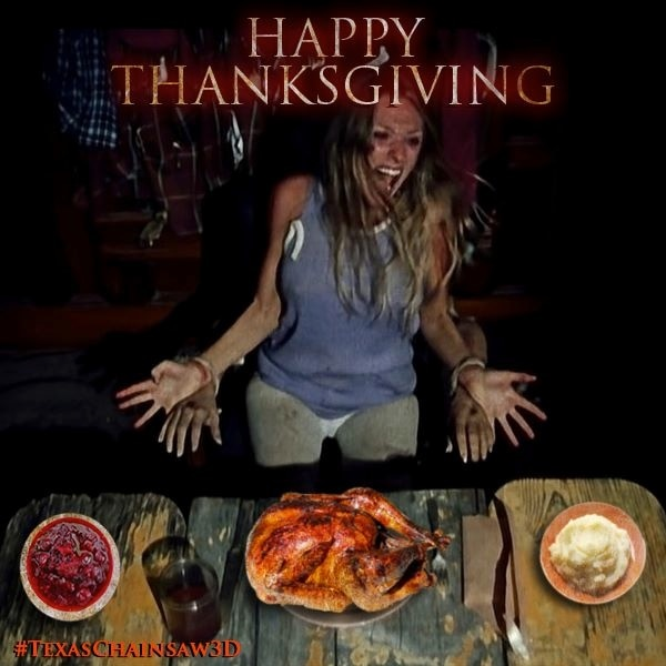 New Texas Chainsaw Viral Images Get You Ready for the Thanksgiving Leftovers!
