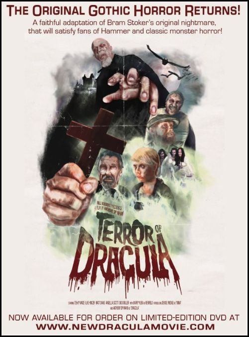 Trailer Released for Anthony DP Mann's Canadian Import Terror of Dracula