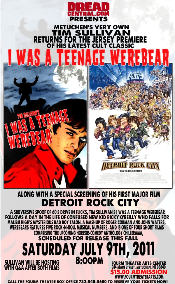 Dread Central Presents: The East Coast Premiere of Tim Sullivan's I Was a Teenage Werebear