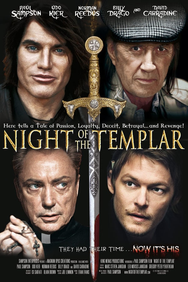 Three New One-Sheets March Forth for Night of the Templar