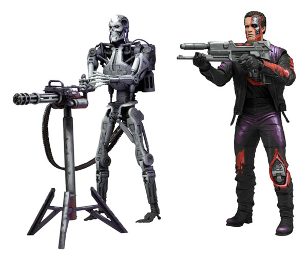 terminator cc - #SDCC14: NECA Unveils RoboCop vs. Terminator Video Game Action Figures