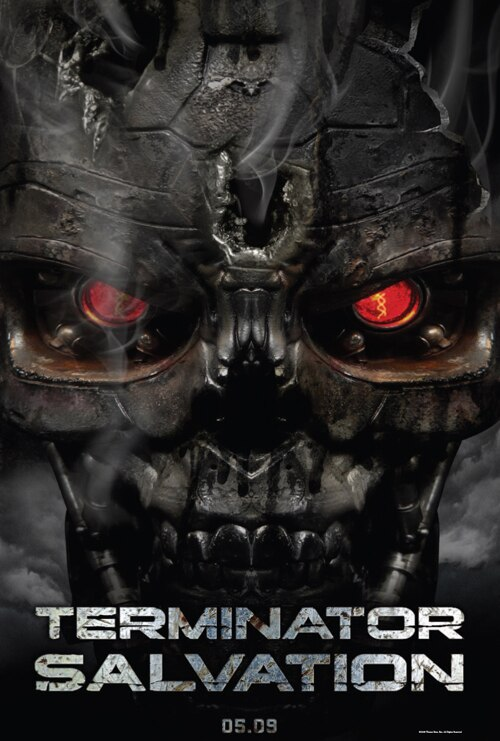 Official Terminator Salvation poster!