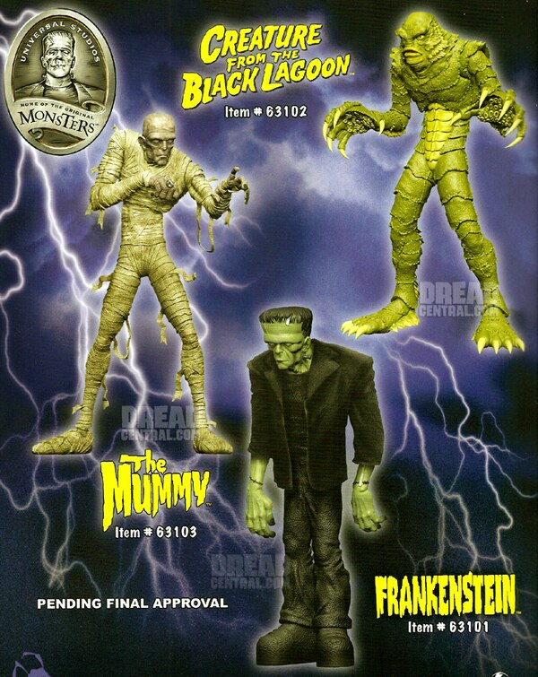 Toy Fair 2012: Tons of Universal Terror Coming From Mezco; Living Dead Dolls Start Marching!