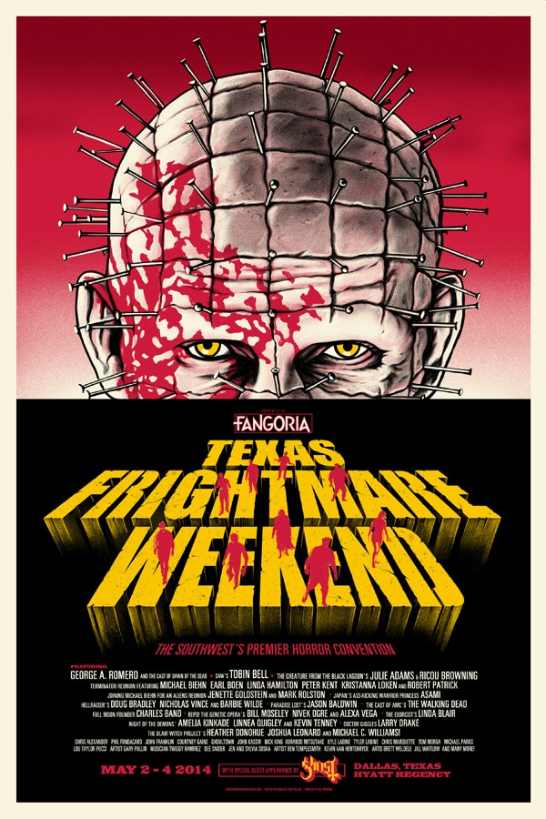 tfw14 - Full Texas Frightmare Weekend Schedule Unleashed!