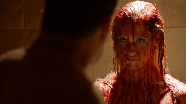 First Stills From The Harrowing Shower You in Blood!