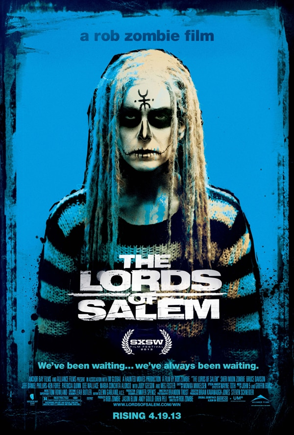 Two New Variant Posters for Rob Zombie's The Lords of Salem